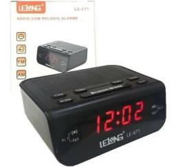 Radio Relógio com Alarme