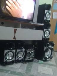 Som LG 6 caixas