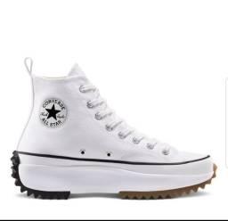 Tênis Converse All Star cano alto Branco
