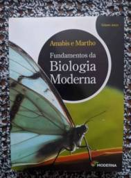Título do anúncio: Livro Fundamentos da biologia moderna - entrega em Poços de Caldas
