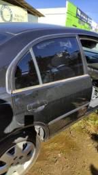 Porta traseira L/D Honda Civic 2001 a 2006 Original