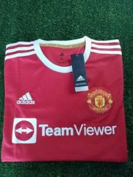 Título do anúncio: Camisa Manchester United-21/22 - Adidas-tam.G-