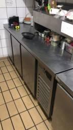 Título do anúncio: Balcão Refrigerado Inox 3 portas