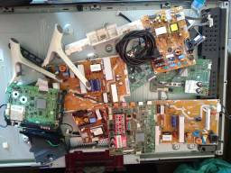 Vendo tv Samsung e peças