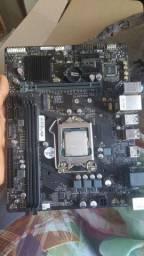 Placa mãe h310 + processador g4650 Pentium!