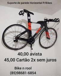 Suporte de parede Horizontal P/bikes
