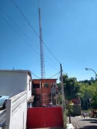 Torre Alto Portante 25 metros Radio Comunitária ou internet via rádio.