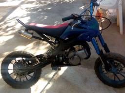 Vendo ou troco uma TD e uma mini moto