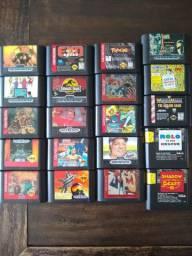 Jogos Mega Drive Cartuchos Originais Sega Genesis