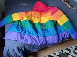 Título do anúncio: Jaqueta colorida arco-íris