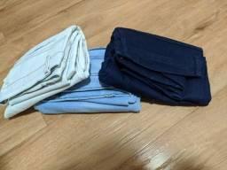 Título do anúncio: 3 calça jeans em perfeitas condições, tamanho 40.