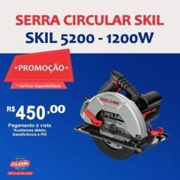 Título do anúncio: Serra Circular Manual Elétrica Skil 5200