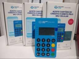 Título do anúncio: Maquininha de cartão mercado pago point mini com NFC