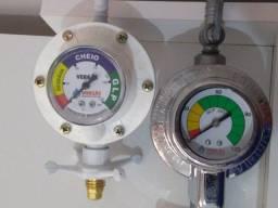 registro regulador  baixa pressão c/ medidor de consumo
