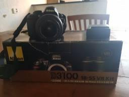 Título do anúncio: Câmera Fotográfica Nikon D3100  Af-s Dx Nikkor 18-55 Mm F/3.5-5.6g VR Kit