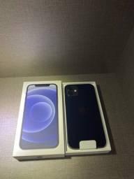 Vendo iPhone 12 128gb Preto - Lacrado - 1 ano de garantia Apple