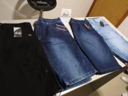 Bermudas Jeans e Sarja