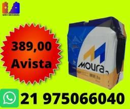 Título do anúncio: BATERIA  50ah HONDA civic wr-v 50jd cr-v elantra
