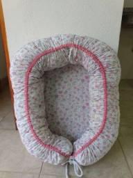 Título do anúncio: Ninho redutor para bebê menina com regulagem e forro removível a prova de xixi