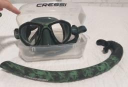 Título do anúncio: Kit De Pesca Cressi Hunter Flex Camuflado