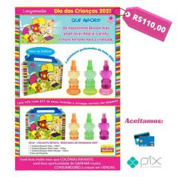 Título do anúncio: Perfumes Infantis Blosson Kids