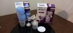 Título do anúncio: Extrator de leite materno Philips Avent