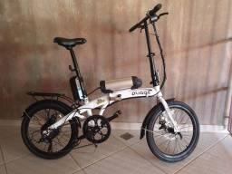 Título do anúncio: Bicicleta Elétrica Dobrável