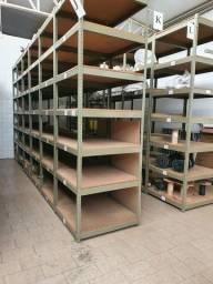 Título do anúncio: Módulo estantes de ferro reforçadas ,7 prateleira