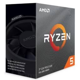 AMD Ryzen 5 3600 3.6 GHz 32MB Cache AM4 - 100-100000031BOX - Loja Fgtec Informática