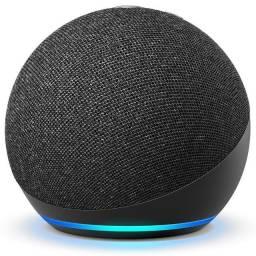 Título do anúncio: Echo Dot Smart Speaker com Alexa Preto 4a Geração