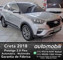Título do anúncio: CRETA 2017/2018 2.0 16V FLEX PRESTIGE AUTOMÁTICO