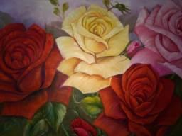 Título do anúncio: Painel Rosas