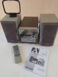 Dvd Micro Hi-Fi System Toshiba.