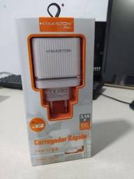 Carregador Rápido 2 USB V8 3.1A