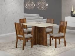 mesa de jantar com 4 lugares iza