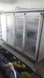 Vendo balcão expositor 4 portas refrigerado