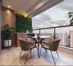 Lançamento! Apt. 2 quartos com varanda gourmet e área de lazer completa