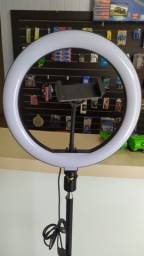 "Ring Light 10"" (26cm) Tripé 2 Metros"