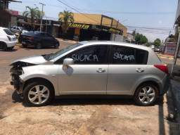 Título do anúncio: Sucata Nissan Tiida para retirada de peças