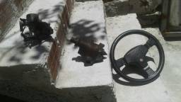 Fusca carburador caixa de direcao volante esportiva