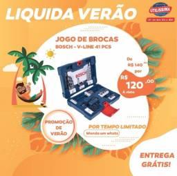 Título do anúncio: Jogo de Brocas V-Line 41 peças - Bosch