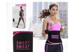 Título do anúncio: Sweet Sweat Cinta Abdominal Neoprene Original Rosa E Amarela