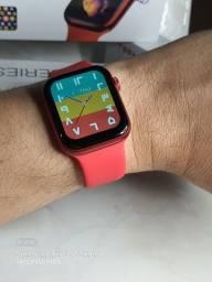 Título do anúncio: Smartwatch Iwo T55 + tela grande de 1.75 polegadas e proteção anti-risco