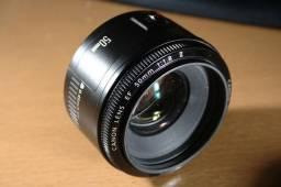Lente 50mm 1.8 II Canon