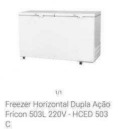 Freezer horizontal 2 Portas 503 Lts