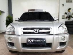 Hyundai Tucson 2.7 Mpfi GLS 24v 180CV 4WD 2007/2008 Prata Blindada - 2008