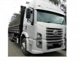 Vw 24250 constelation truck 2012 6x2 teto alto - 2012