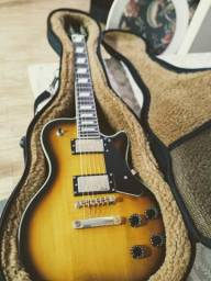 Guitarra Stagg Les Paul + super case