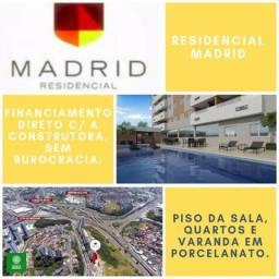 Residencial Madrid, com 2 quartos, Suíte e Varanda em Brotas