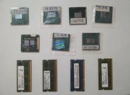Processadores e Memoria Ram ( Notebook )